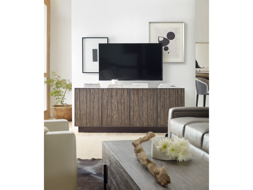 Hooker Furniture CurataModern Wooden Entertainment Console
