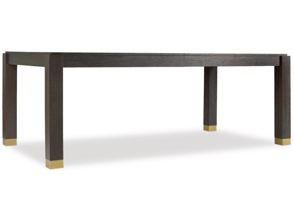 Hooker Furniture CurataRectangle Dining Table w/2-20in leaves