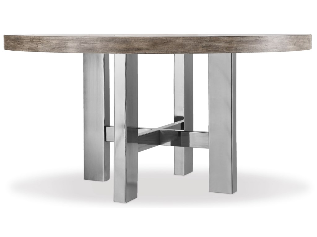 Hooker Furniture Curata 1600 75201 Mwd Modern Round Dining Table