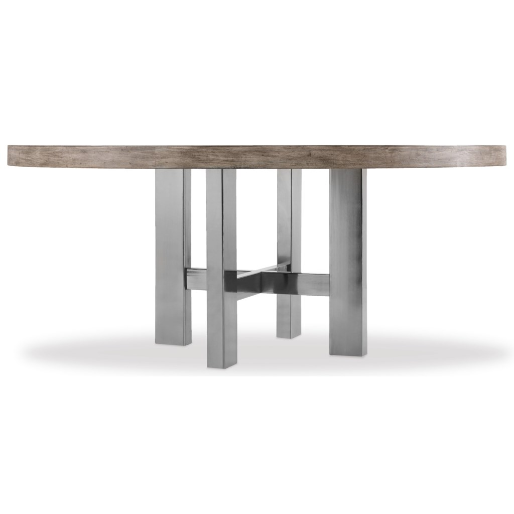 Hooker Furniture Curata Modern Round Dining Table Baer s