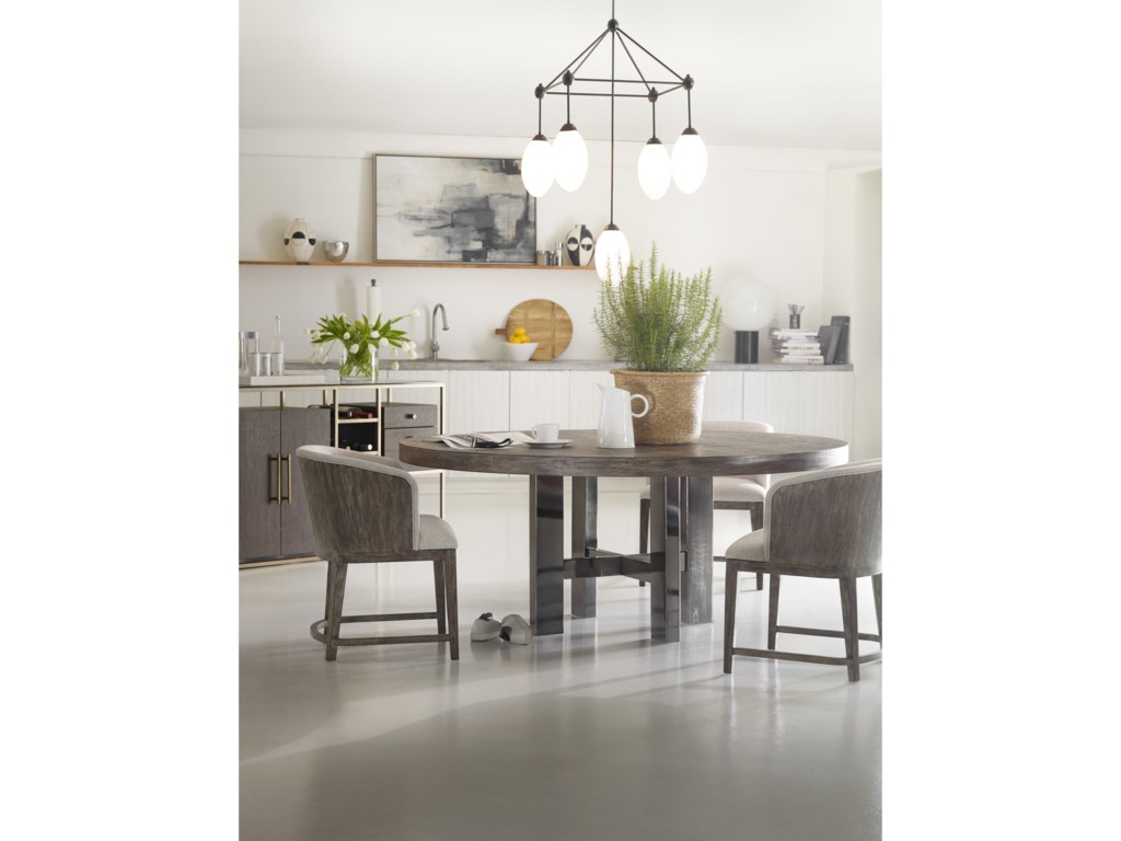 Hooker Furniture CurataLarge Modern Round Dining Table