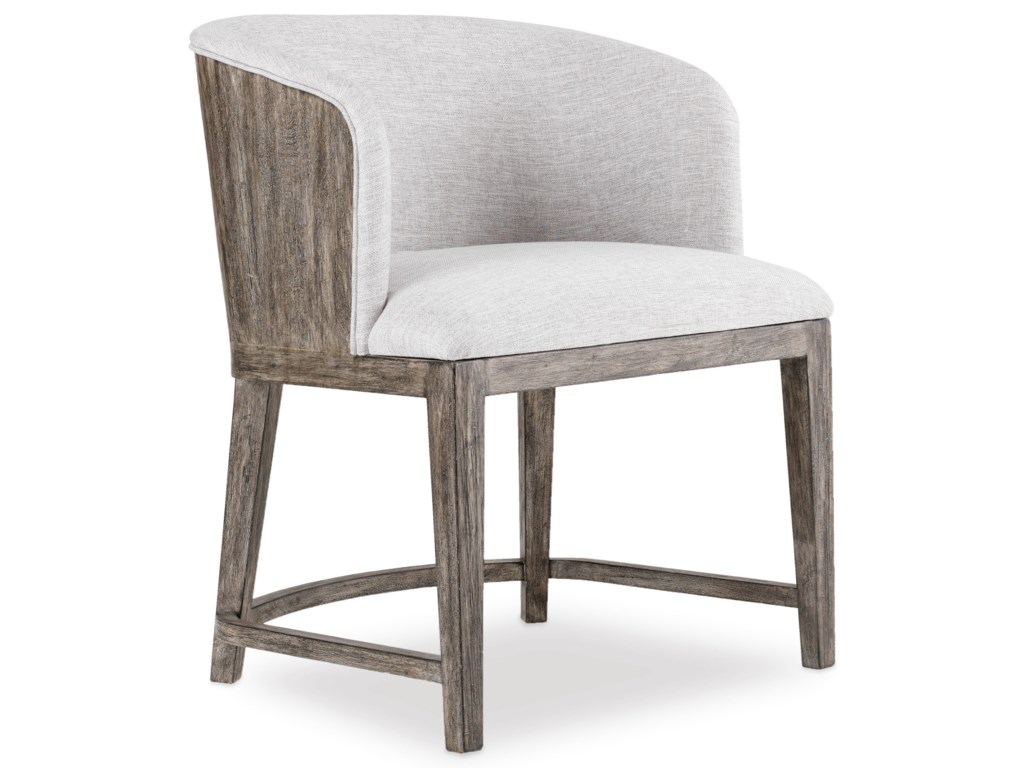 Hooker Furniture CurataUpholstered Chair with Wood Back