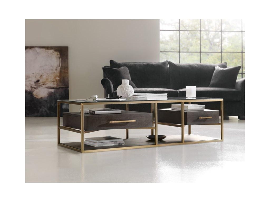 Hooker Furniture CurataModern Rectangle Cocktail Table