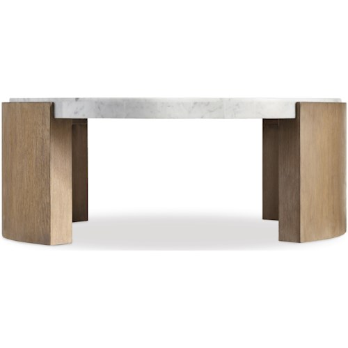 Hooker Furniture Curata Modern Round Cocktail Table