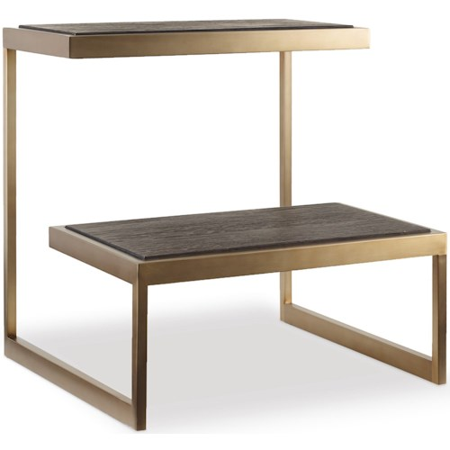 Hooker Furniture Curata Modern End Table
