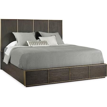 Modern Queen Low Bed