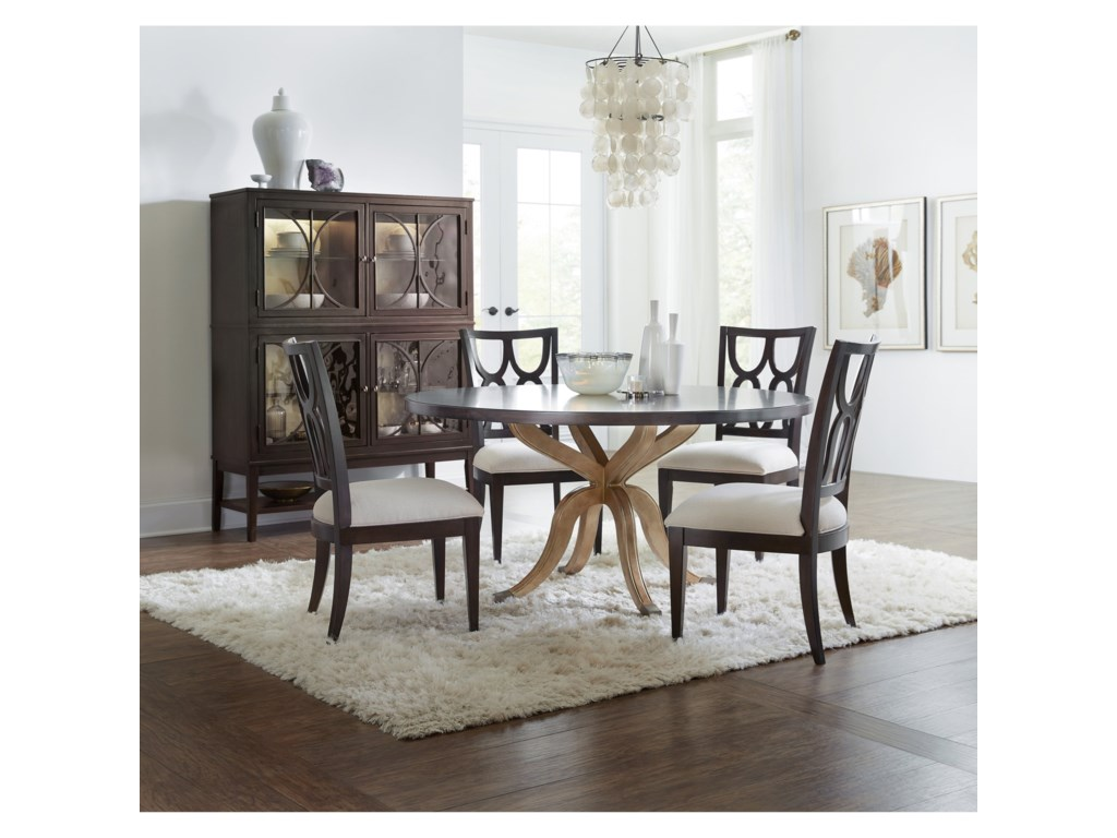 Hooker Furniture CurveeRound Dining Table