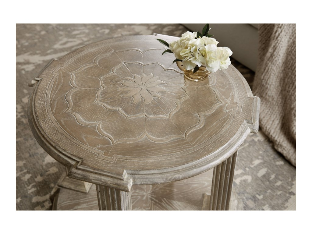 Hooker Furniture DahliaRound End Table