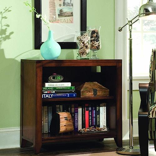 Hooker Furniture Danforth Open Low Bookshelf