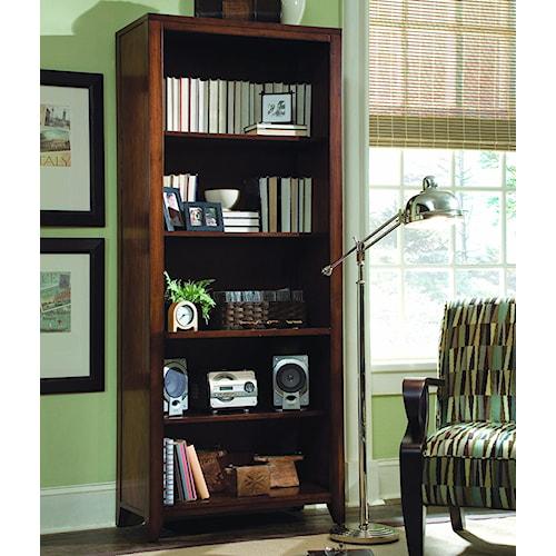 Hooker Furniture Danforth Open Bookcase w/ 4 Shelves