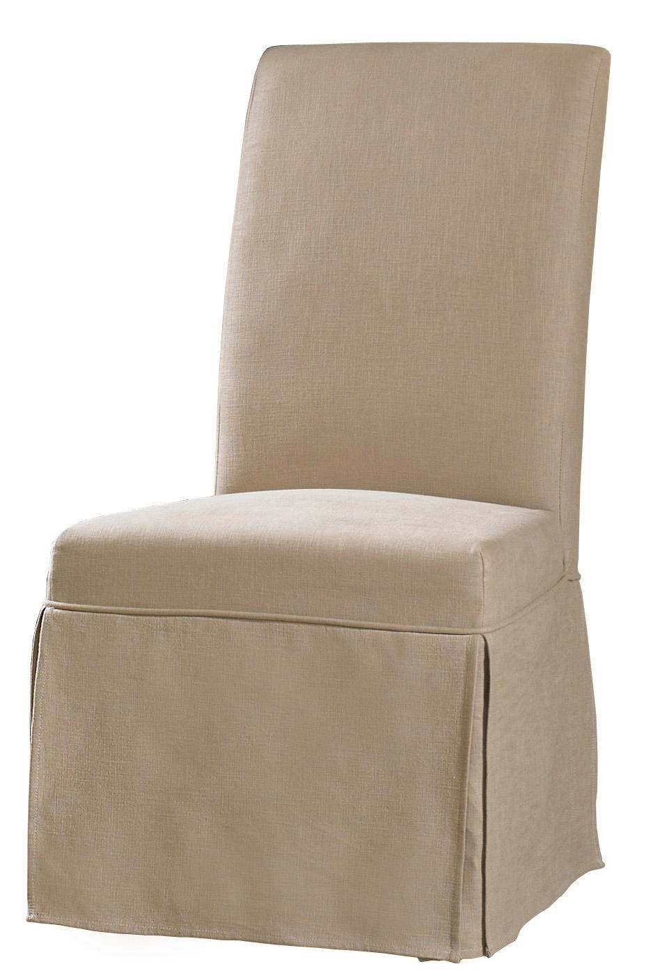 Decorator Chairs Clarice Skirted Slip Chair By Hooker Furniture