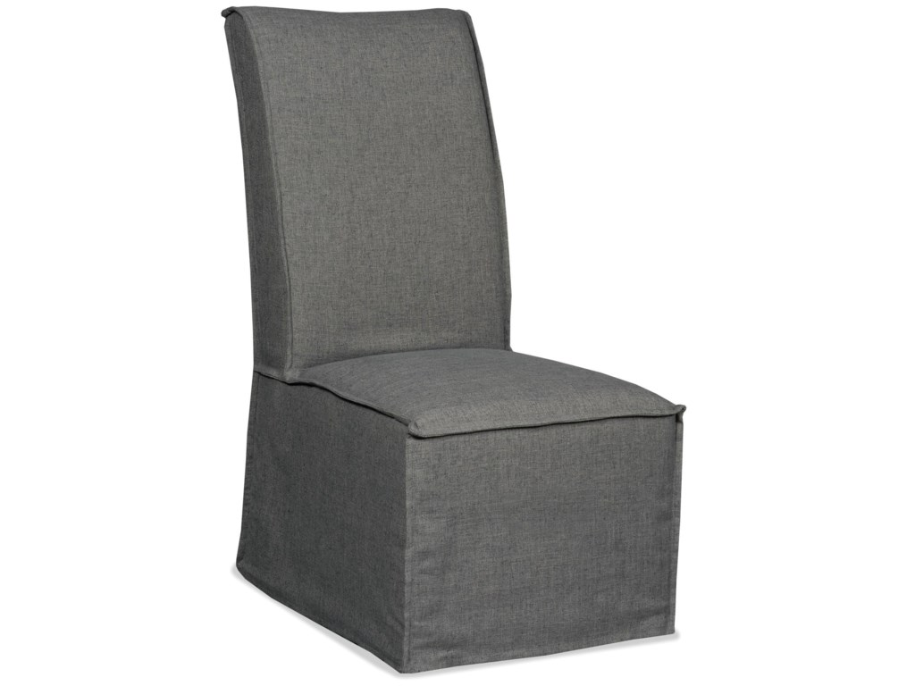 Hooker Furniture Decorator Chairs  Zuma Charcoal Armless Dining Chair
