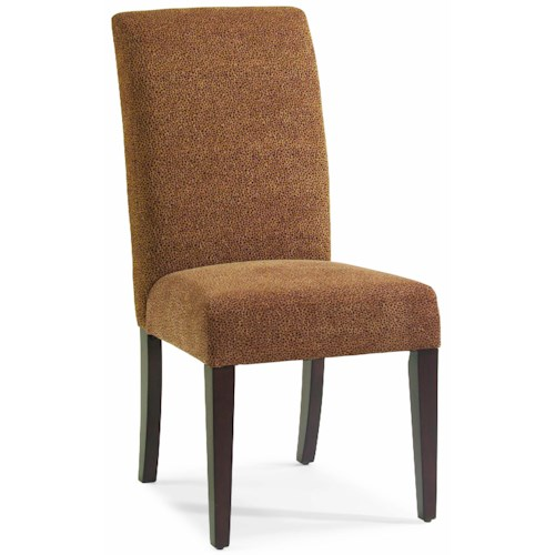 Hamilton Home Dining Chairs with Counter Stools and Bar Stools Stellene Side Chair in Cheetz Copper