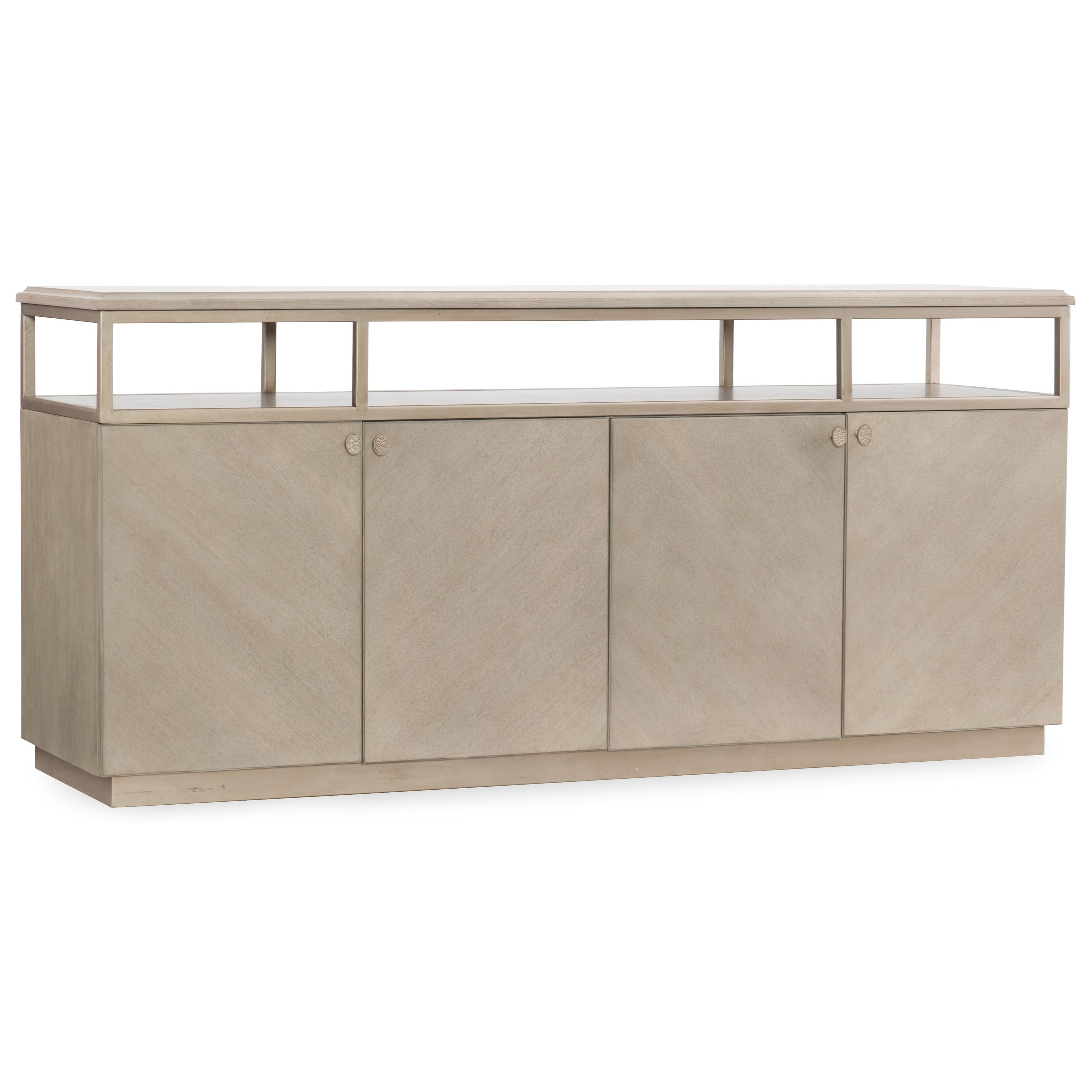 Hooker Furniture Elixir Entertainment Console With Built In Outlet