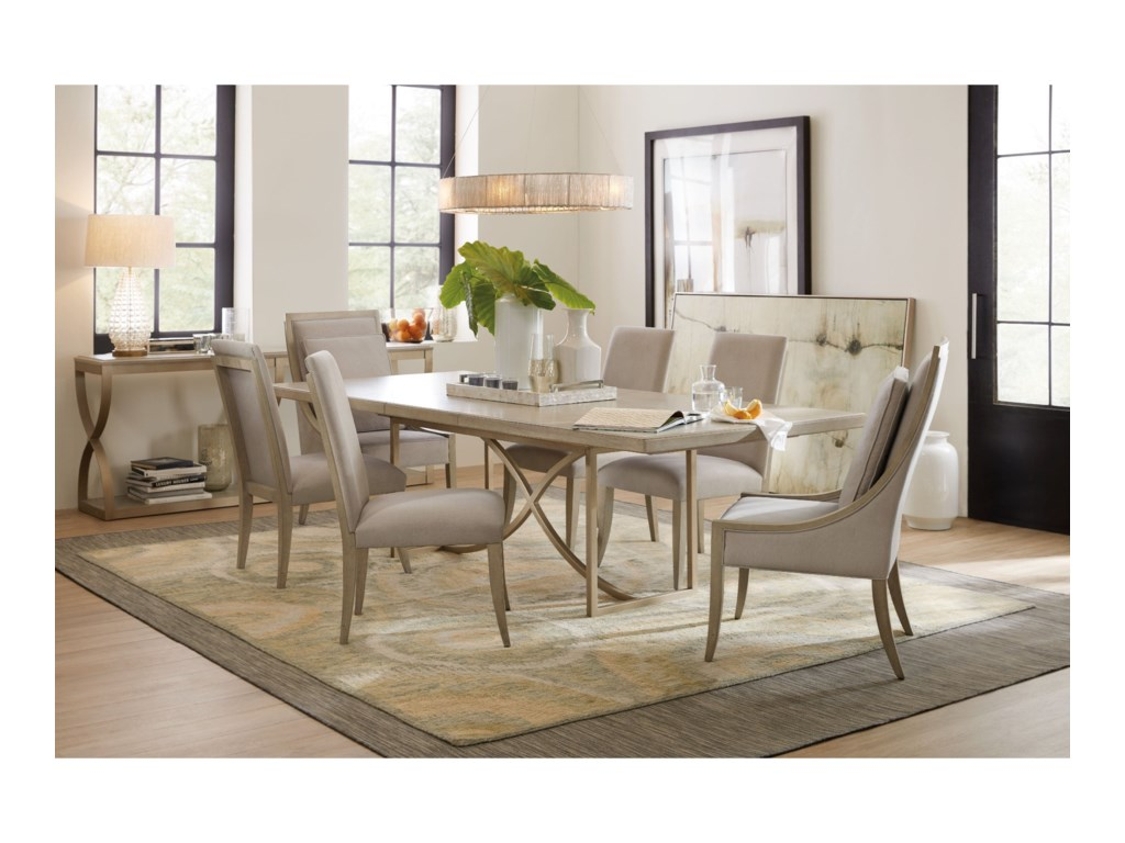 Hooker Furniture Elixir7 Piece Dining Set