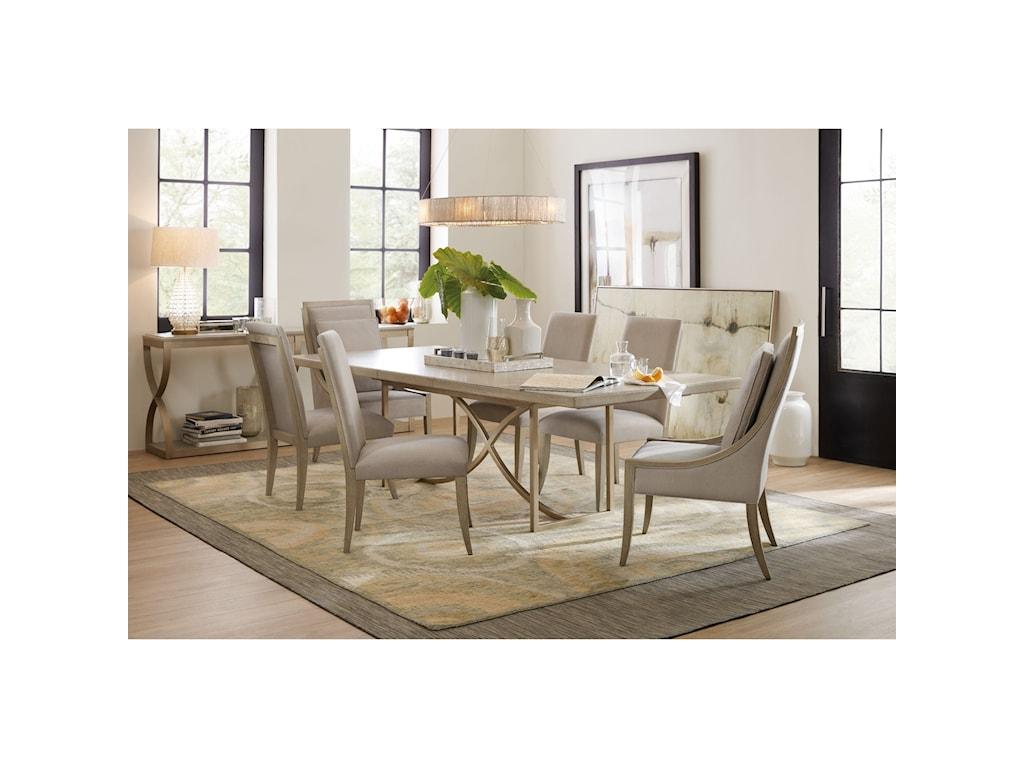Hooker Furniture Elixir7 Piece Dining Set