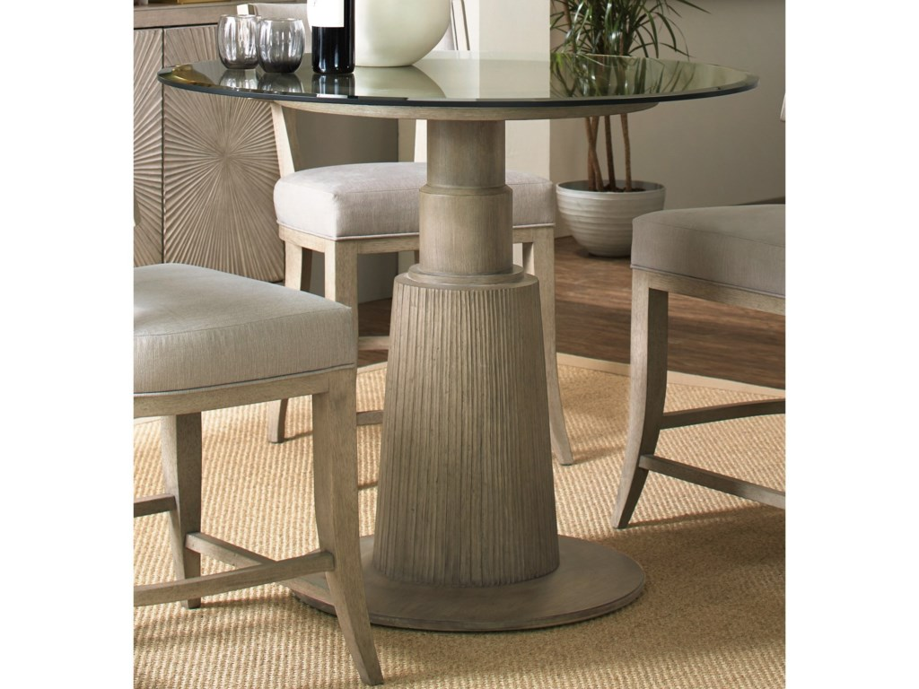 Hooker Furniture ElixirAdjustable Height Round Dining Table