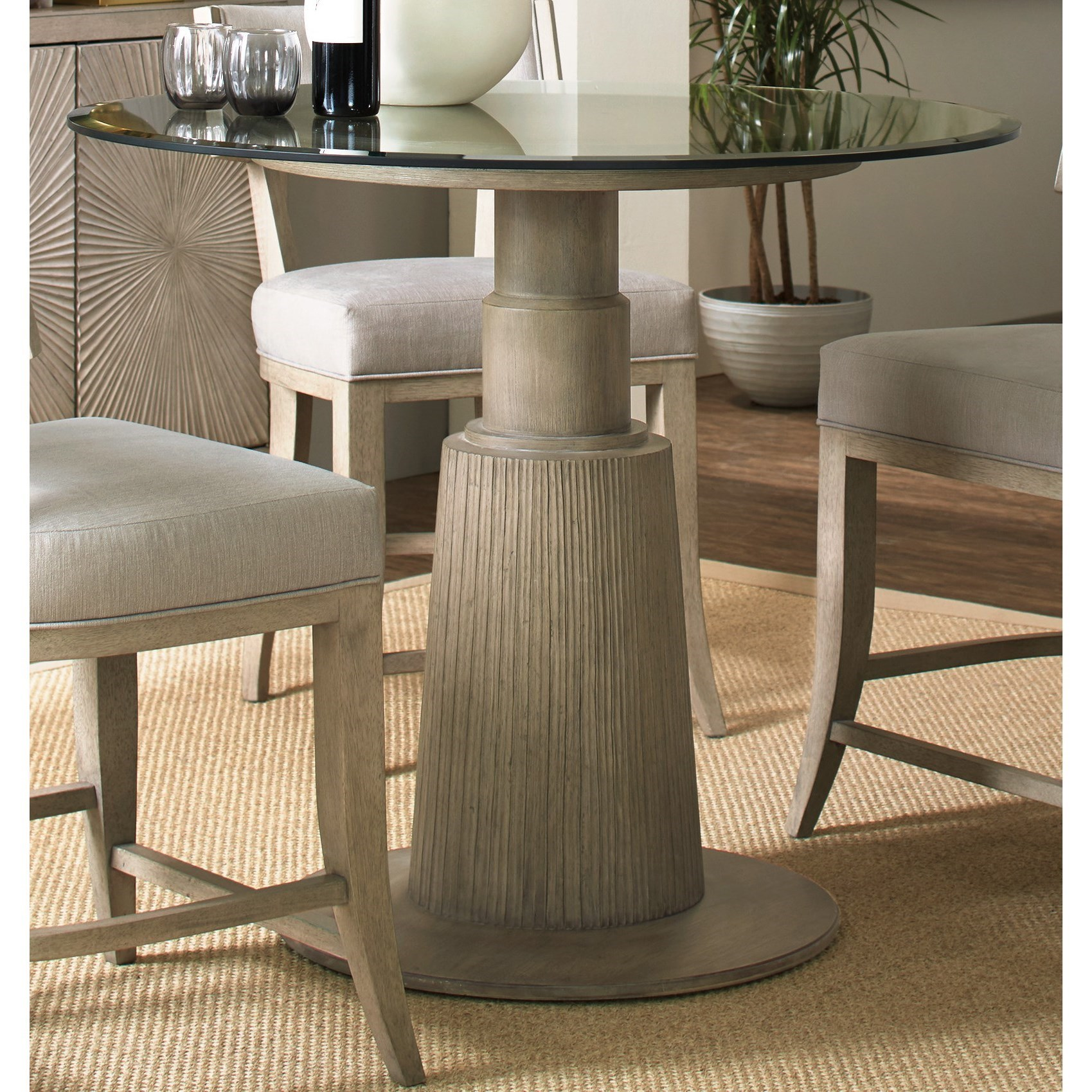 Hooker Furniture ElixirAdjustable Height Round Dining Table ...