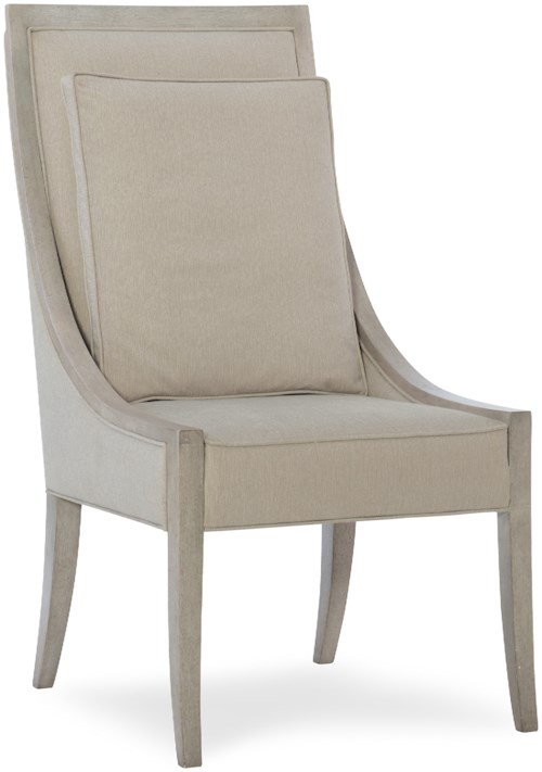 Hooker Furniture Elixir Upholstered Host Chair with Back Cushion