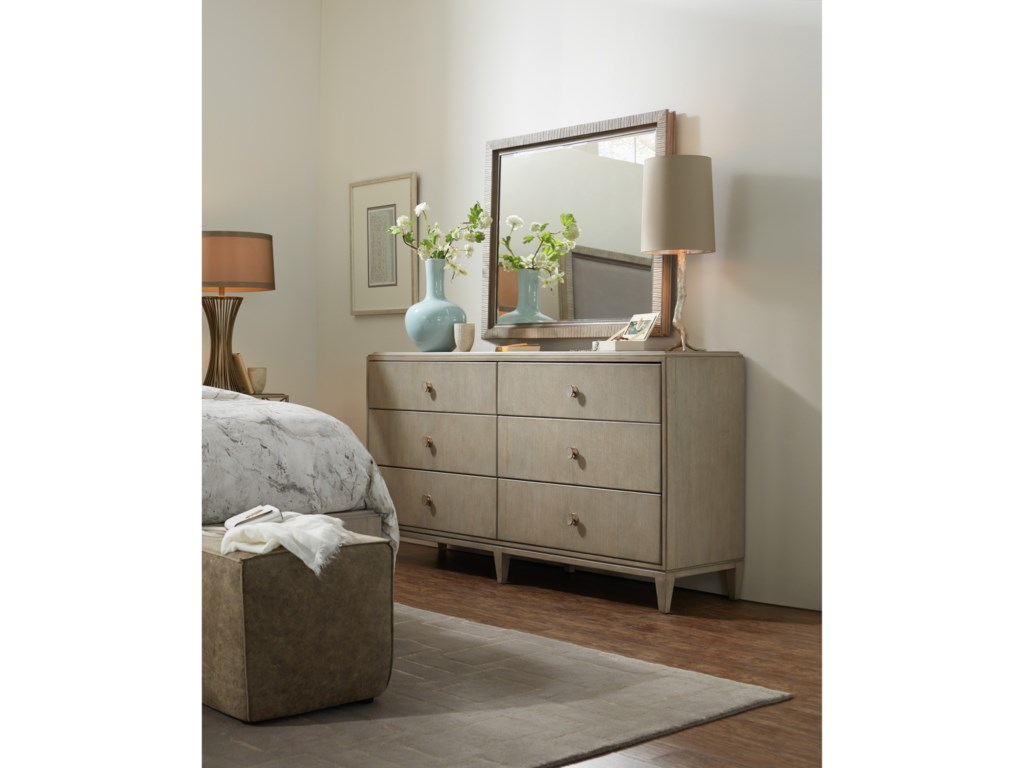 Hooker Furniture ElixirSix-Drawer Dresser