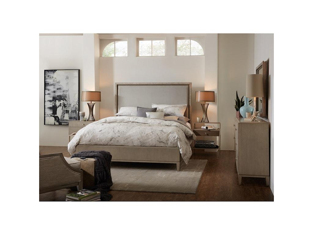 Hooker Furniture ElixirKing Upholstered Bed