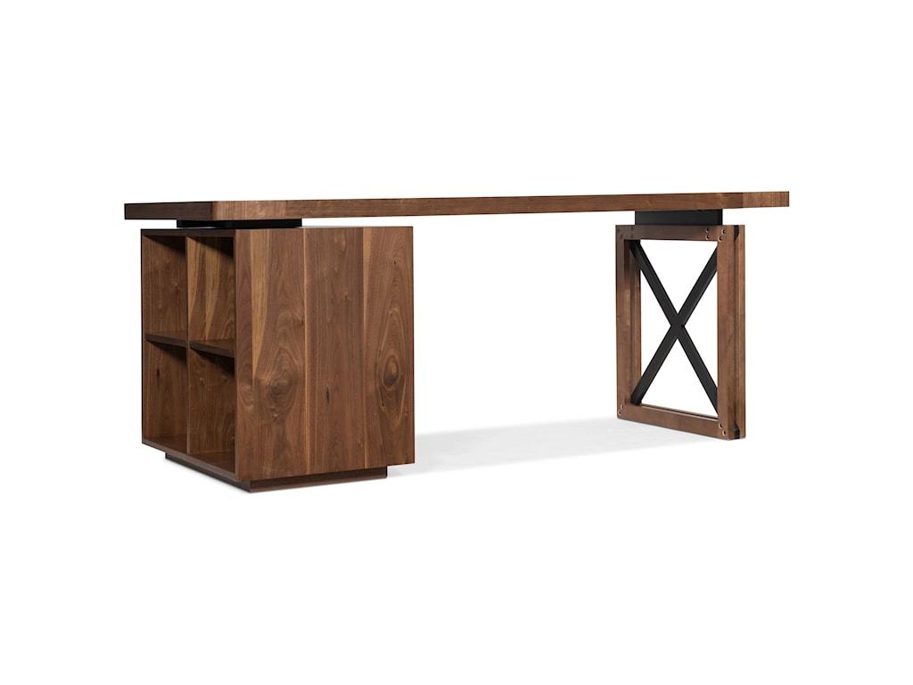 Hooker Furniture ElonSingle Pedestal Desk