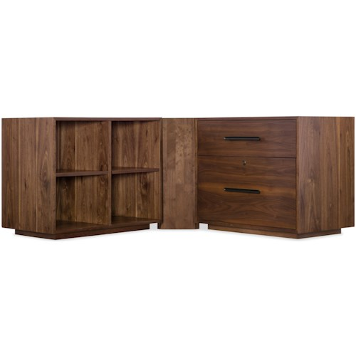Hooker Furniture Elon 2 Drawer Lateral File with Filing System