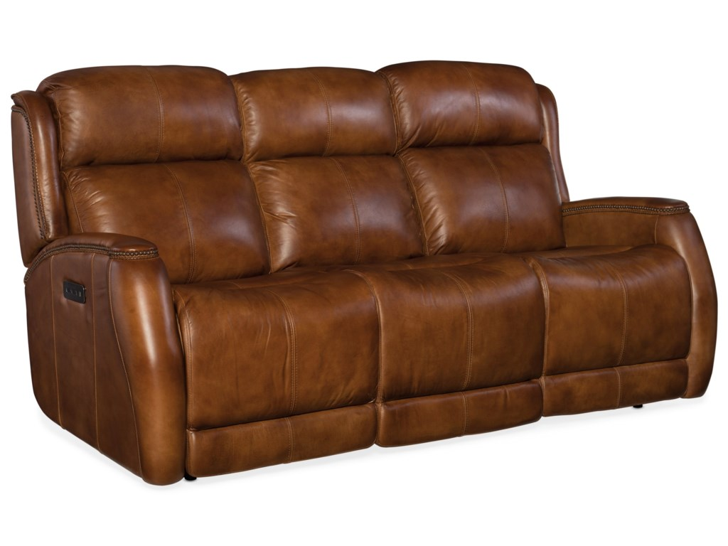 Hooker Furniture EmersonPower Sofa with Power Headrest