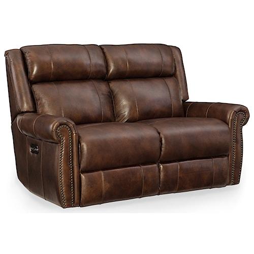 Hooker Furniture Esme Power Motion Loveseat with Power Headrest