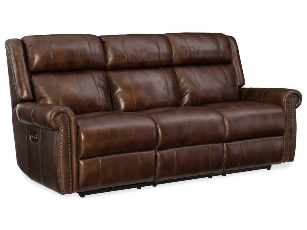 Hooker Furniture EsmePower Motion Sofa with Power Headrest