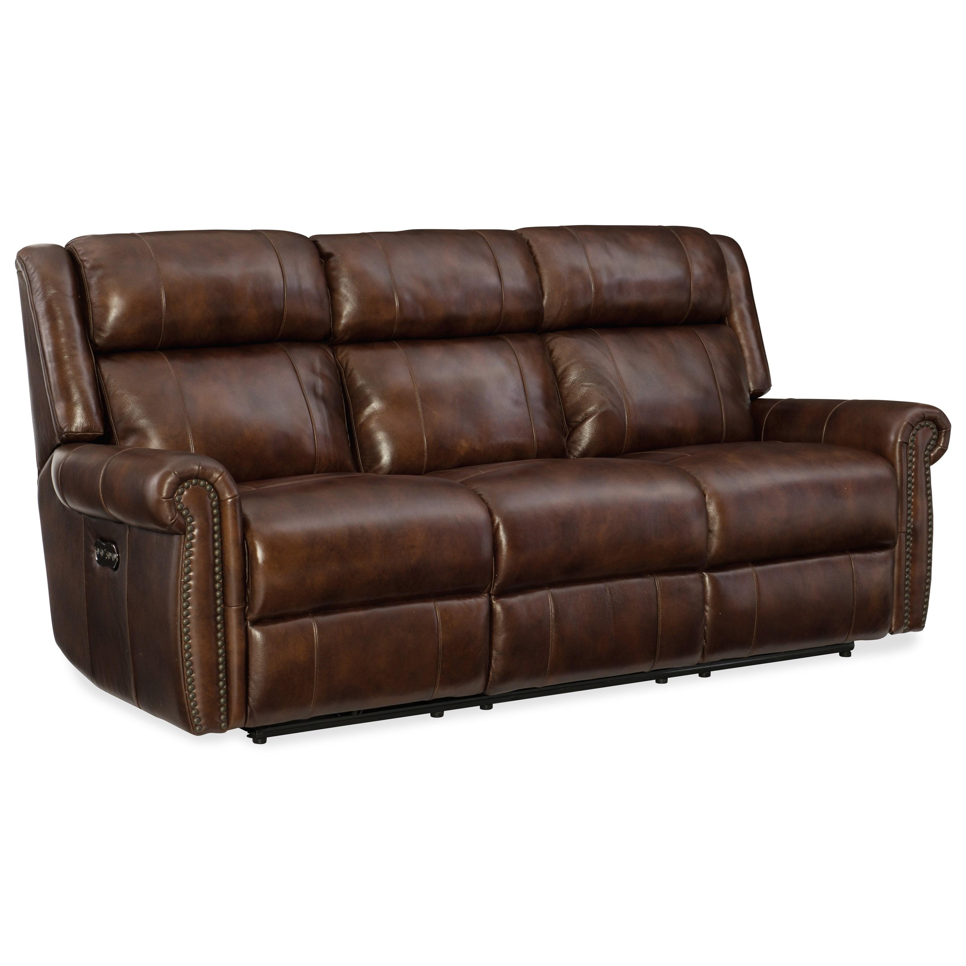 Hooker Furniture Esme Power Motion Sofa With Power Headrest