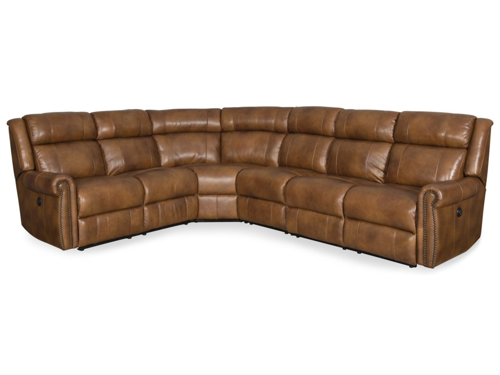 Hooker Furniture EsmePower Reclining Sectional