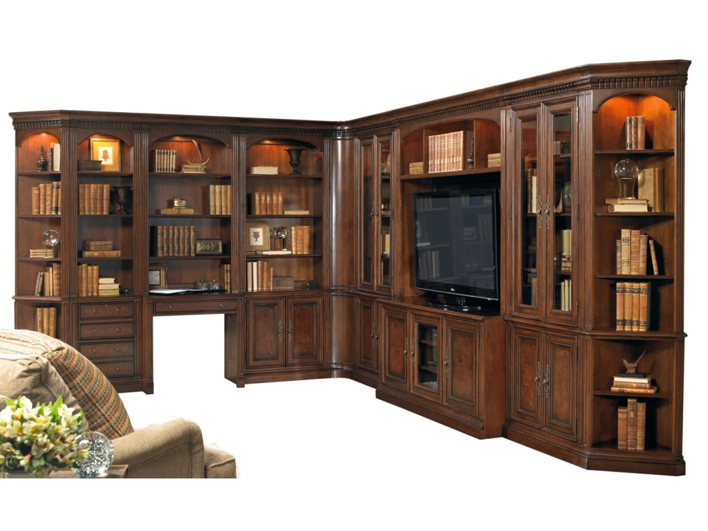 Furniture European Renaissance Iigrand Scale Corner Wall Unit