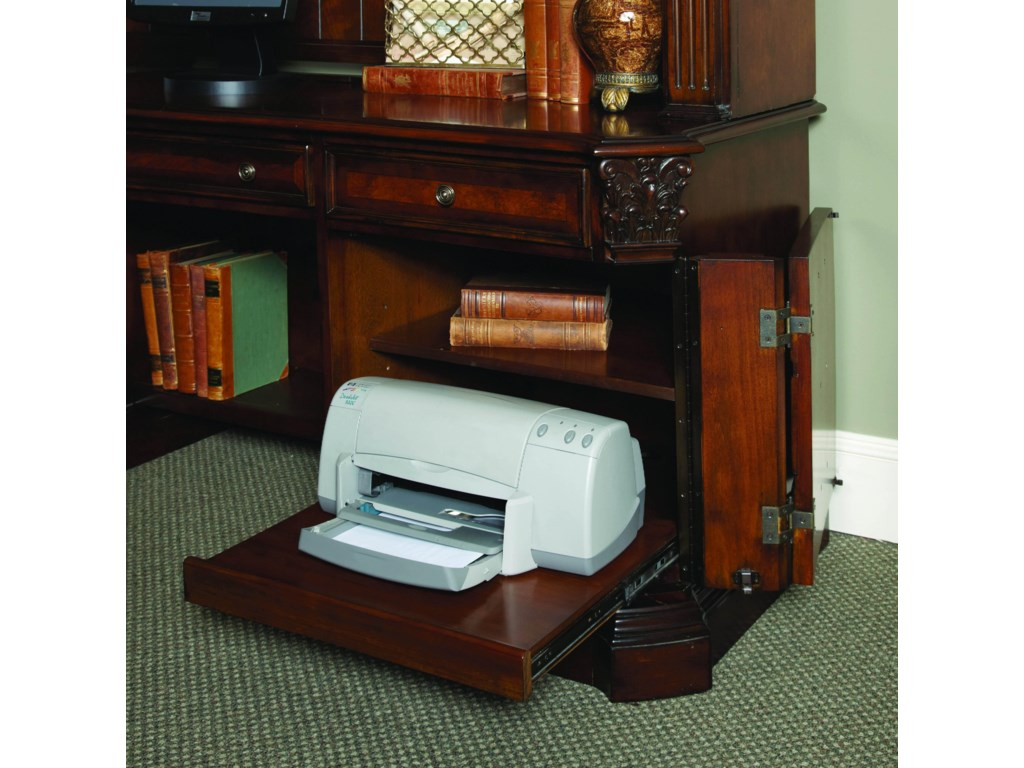 Pull-Out Printer Tray