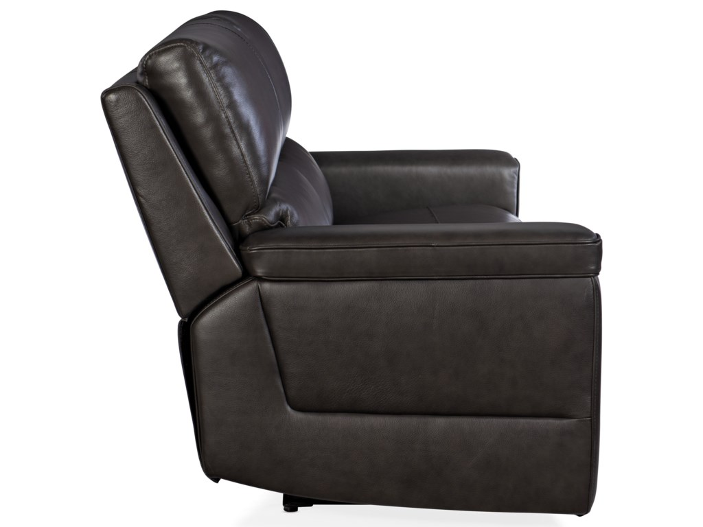 Hooker Furniture GablePower Reclining Leather Sofa