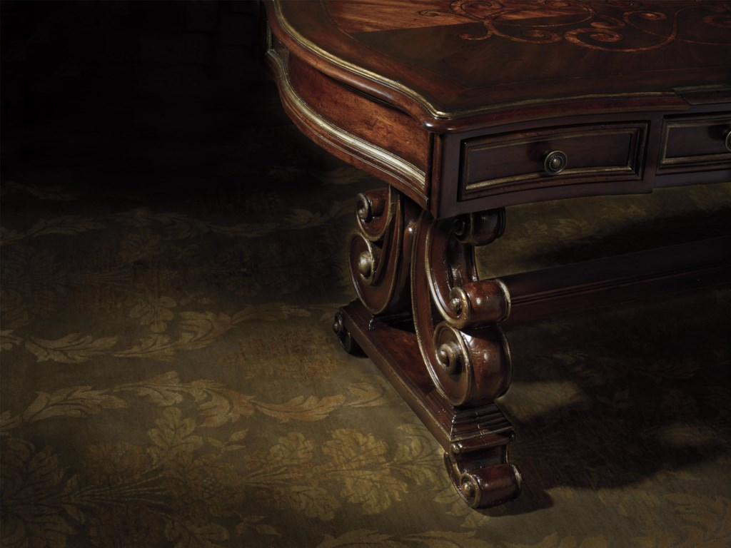 Hooker Furniture Grand PalaisWriting Desk with 3 Drawers