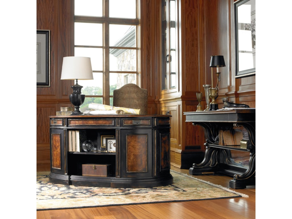 Shown with Mirrored Back Console Table and Upholstered Chair