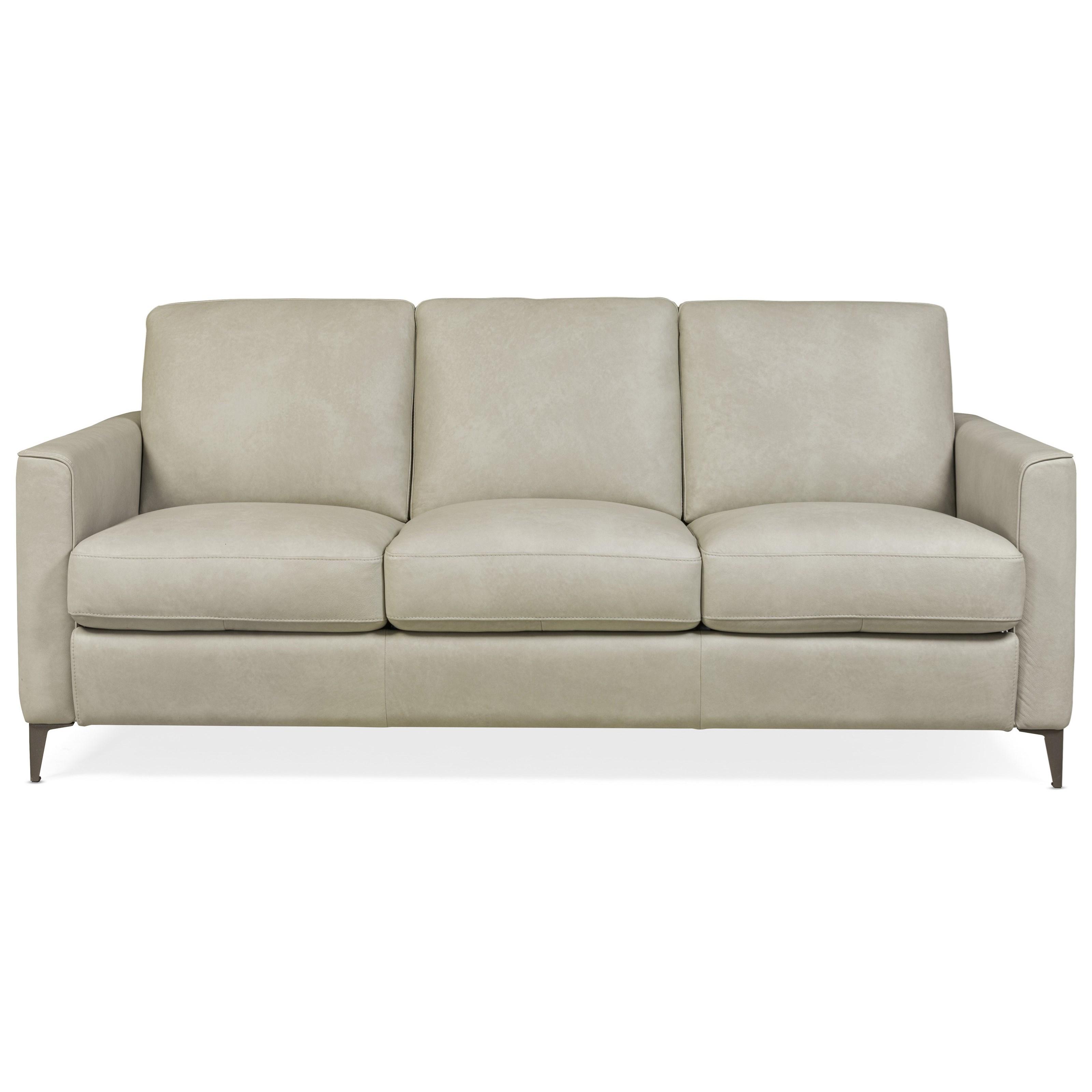- Hooker Furniture Gresham Park Contemporary 81 Inch Leather Sleeper