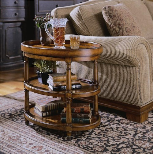 Hooker Furniture Seven Seas Oval Accent Table