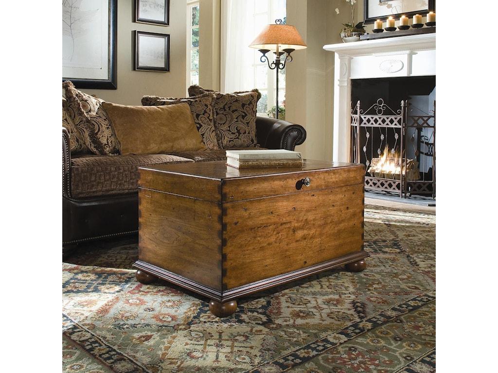 Hooker Furniture AccentsLift-Lid Cocktail Trunk