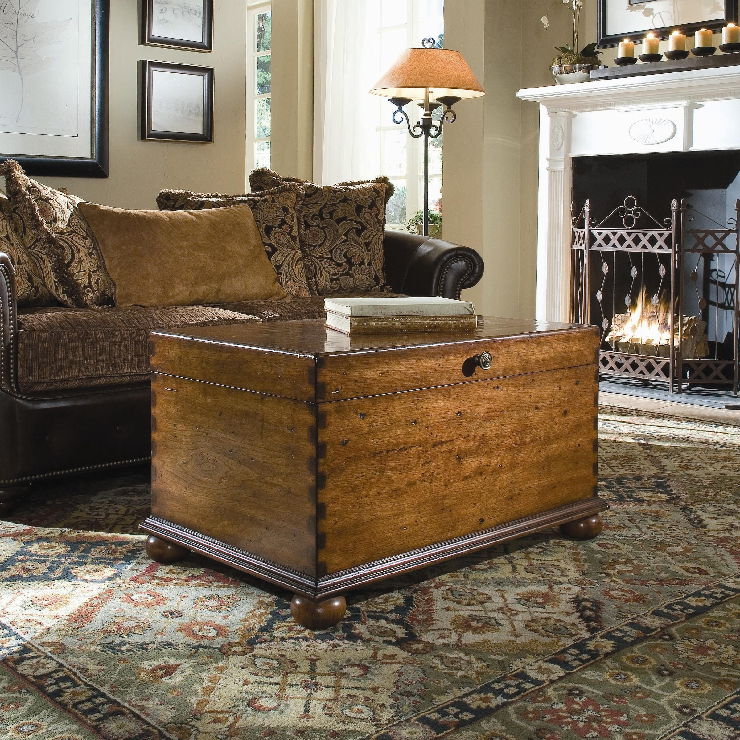 Seven Seas Lift Lid Cocktail Trunk By Hooker Furniture