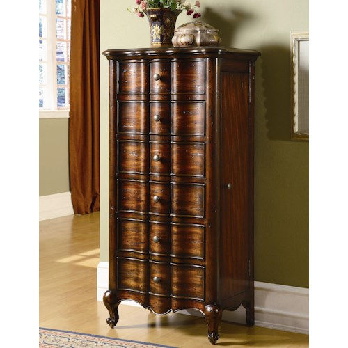 Hooker Furniture Seven Seas French Jewelry Armoire