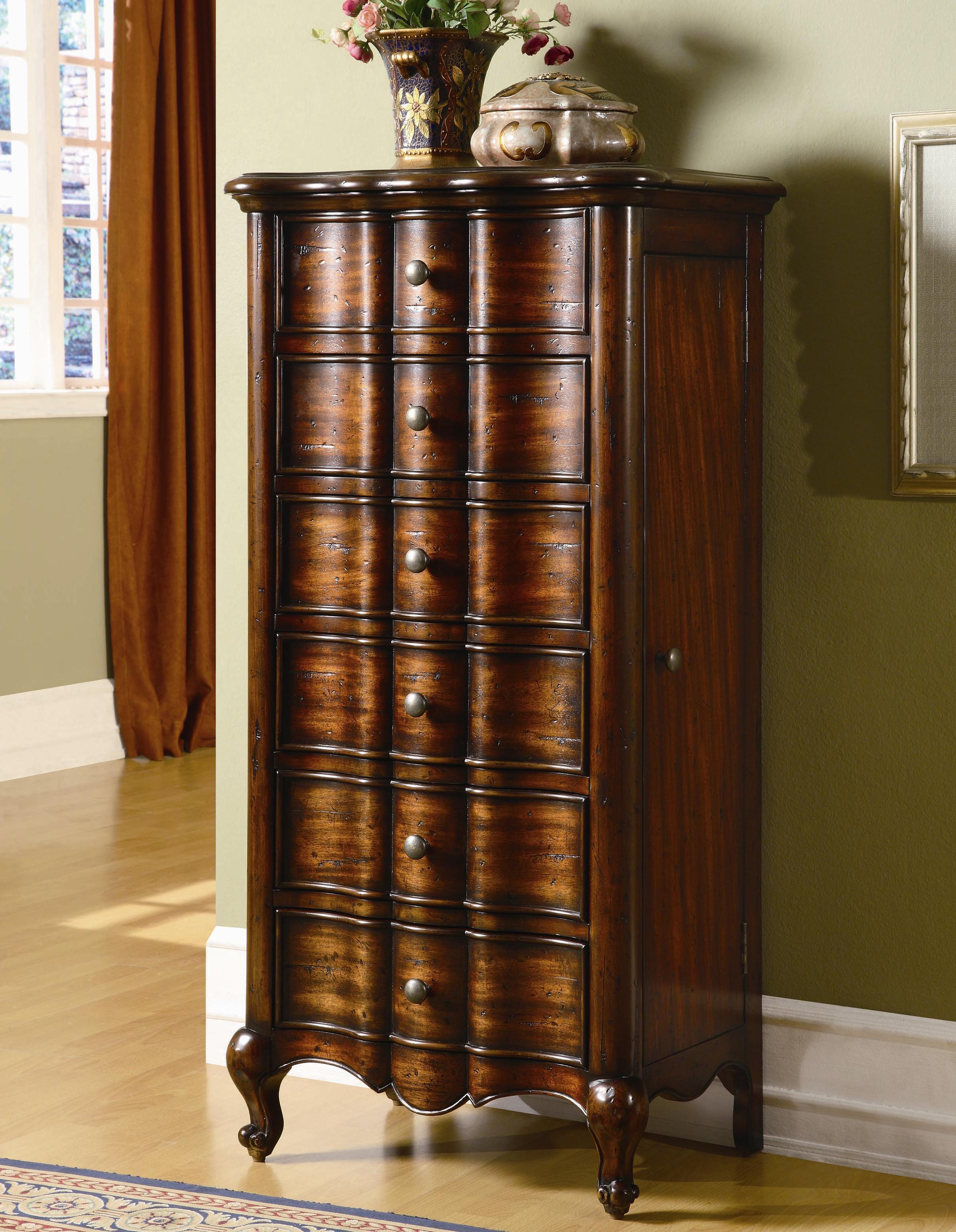 Hooker Furniture Seven Seas French Jewelry Armoire   Belfort Furniture    Chest   Jewelry Armoire