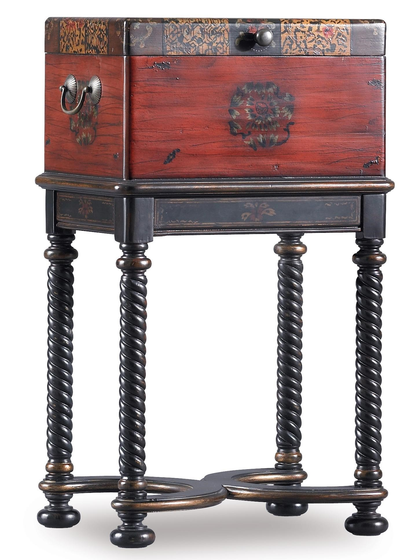 Hooker Furniture Seven Seas Dynasty Box On Stand AccentTable