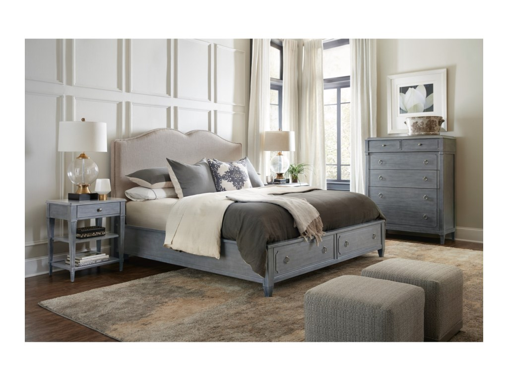 Hooker Furniture HamiltonQueen Bedroom Group
