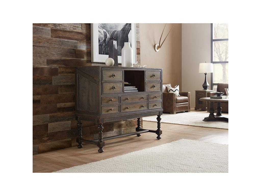 Hooker Furniture Hill CountryBoerne Ranch Managers Desk