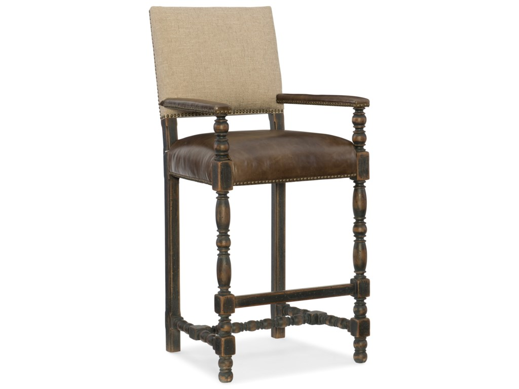 Hooker Furniture Hill CountryComfort Barstool