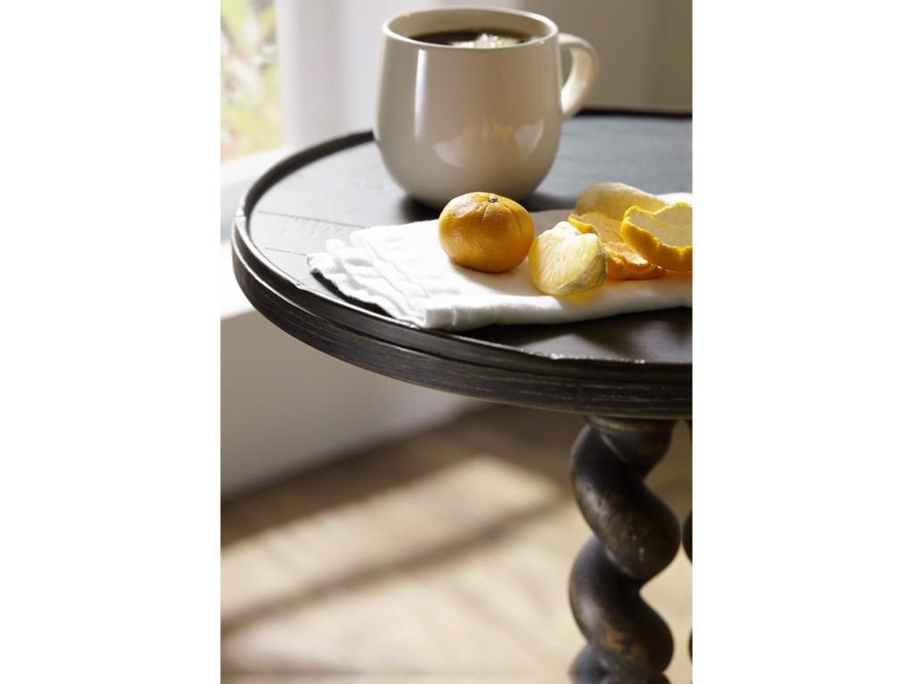 Hooker Furniture Hill CountryPoteet Accent Martini Table