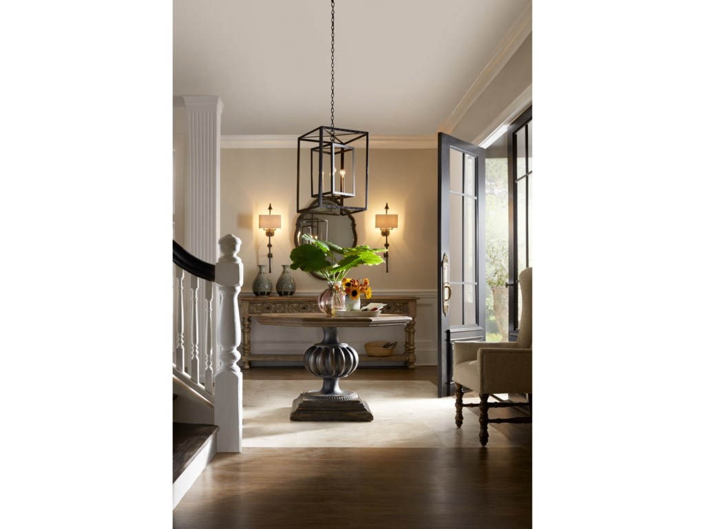 Hooker Furniture Hill CountryBlanco 46in Foyer / Dining Table