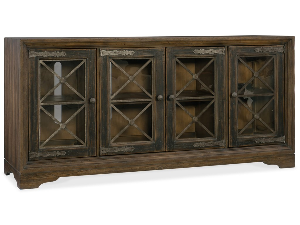 Hooker Furniture Hill CountryPipe Creek Bunching Media Console